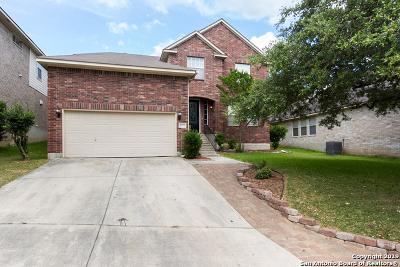 San Antonio Single Family Home Price Change: 21728 Hyerwood