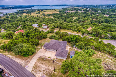 Canyon Lake Single Family Home Back on Market: 821 Roadrunner Spur
