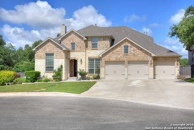 Bexar County Single Family Home Active Option: 3506 Glasscock Trail