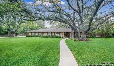 Hondo Single Family Home Price Change: 1306 Shady Ln