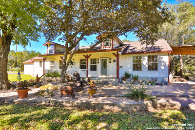 Boerne Single Family Home For Sale: 102 River View