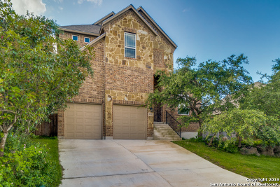 Stone Oak Single Family Home Active Option: 25223 Lost Arrow