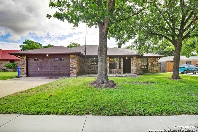 Cibolo Single Family Home Back on Market: 109 Indian Circle