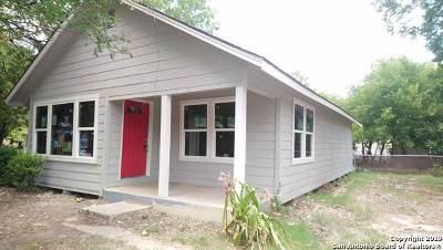 Seguin Single Family Home For Sale: 419 Ellis (Unfinished)