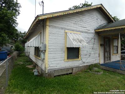 San Antonio Single Family Home New: 314 Fair Ave