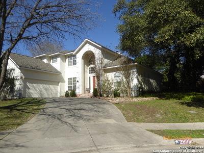 Schertz Single Family Home Active Option: 2833 Bent Tree Dr