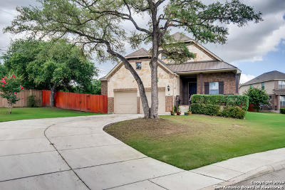 Bexar County Single Family Home Active Option: 506 Secluded Grove