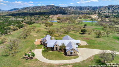 Bandera Single Family Home New: 4149 Fm 1077