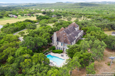 Boerne, Cibolo, Converse, Fair Oaks Ranch, Helotes, Leon Valley, New Braunfels, San Antonio, Schertz, Windcrest Single Family Home For Sale: 27240 Boerne Stage Rd