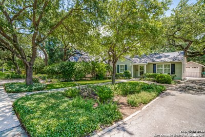 San Antonio Single Family Home Active Option: 422 Evans Ave