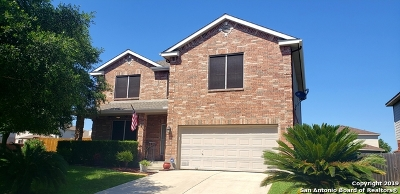 Cibolo Single Family Home Active Option: 117 Wright Cove