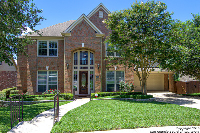 San Antonio Single Family Home Active Option: 12818 Falcon Ledge