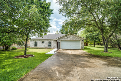 Timberwood Park Single Family Home New: 1014 Midnight Dr