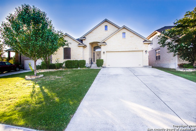 Cibolo Single Family Home Active Option: 310 Sorenstam Way