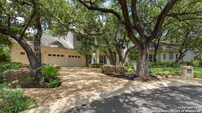 Stone Oak Single Family Home New: 19239 Reata Trail