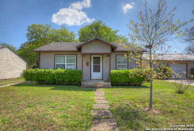 Schertz Single Family Home Active Option: 606 Curtiss St