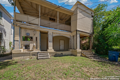 San Antonio Single Family Home Back on Market: 614 W Elmira St
