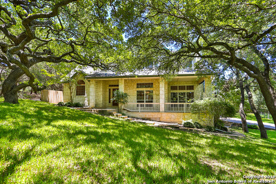 Boerne Single Family Home For Sale: 9627 Boerne Haze
