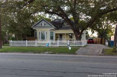 Bexar County Single Family Home For Sale: 919 Camden St