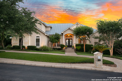 San Antonio Single Family Home For Sale: 7 Royal Waters Dr