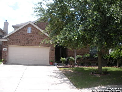Cibolo Single Family Home For Sale: 401 Sorenstam Way