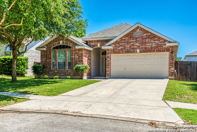 Helotes Single Family Home Active Option: 8835 Firebaugh Dr