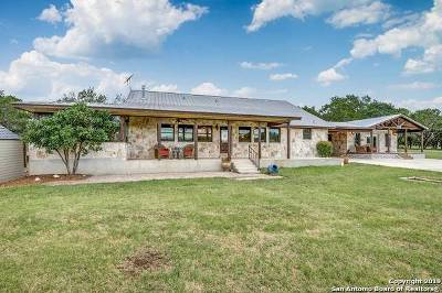 Boerne Single Family Home Price Change: 317 Zoeller Ln