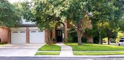 San Antonio TX Single Family Home For Sale: $463,000