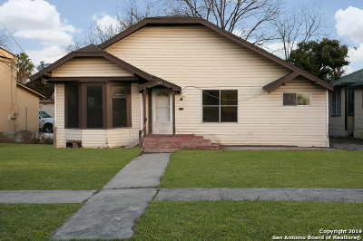 San Antonio Single Family Home For Sale: 1531 W Summit Ave