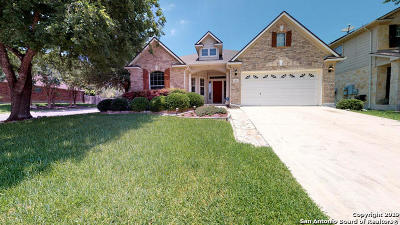 Schertz Single Family Home For Sale: 1001 Oak Ridge