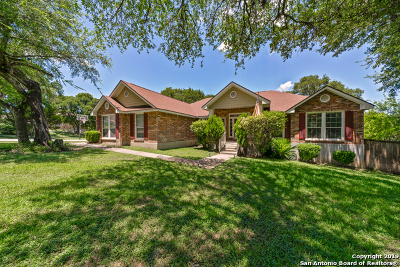 Bexar County Single Family Home Active Option: 13607 Box T Dr