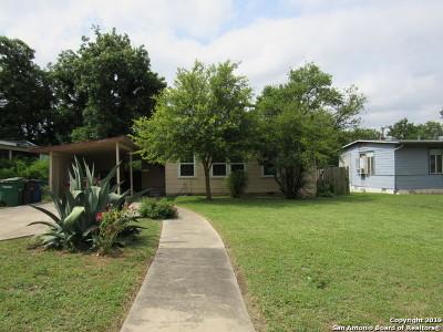 San Antonio Single Family Home New: 818 Cravens Ave
