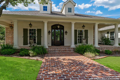 Boerne Single Family Home For Sale: 563 Summit Trail