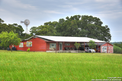 Guadalupe County Single Family Home For Sale: 15300 Alternate 90