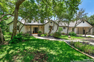 Helotes Single Family Home Price Change: 17110 Bandera Rd #4