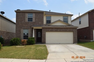 Bexar County Single Family Home New: 12542 Crockett Way