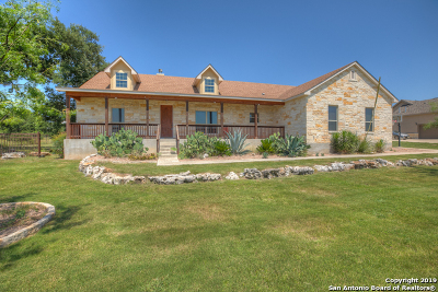 New Braunfels Single Family Home For Sale: 1174 Via Principale