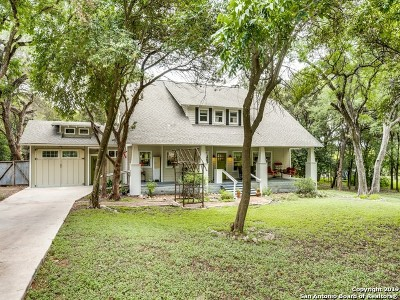 New Braunfels Single Family Home For Sale: 1363 Cedar Elm St