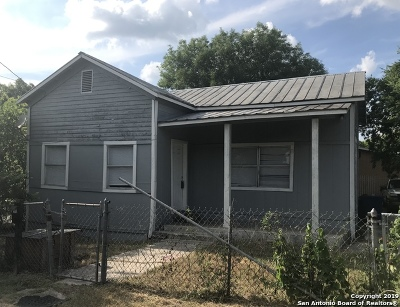 San Antonio Single Family Home Active Option: 203 Coleman St