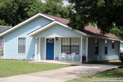New Braunfels Single Family Home Price Change: 1618 W Bridge St
