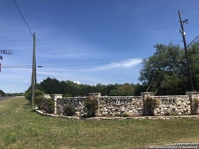 San Antonio Residential Lots & Land New: 3165 Running Springs