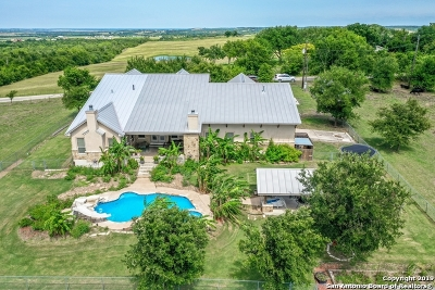 Guadalupe County Single Family Home New: 441 Herrmann Hill