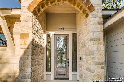 Boerne Single Family Home New: 106 Creede St