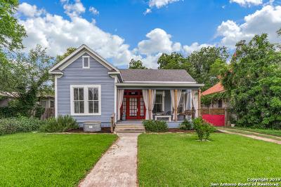 San Antonio Single Family Home New: 907 Hays St