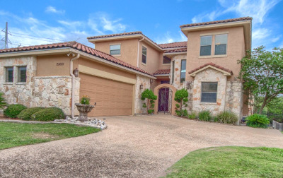 Stone Oak Single Family Home New: 25031 Estancia Cir