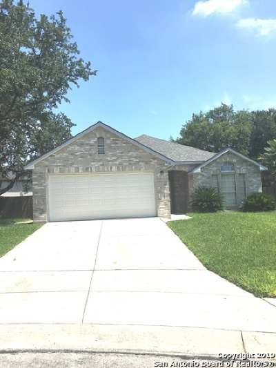 Schertz Single Family Home For Sale: 2836 Berry Patch