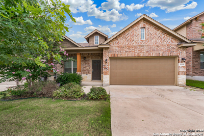 Bexar County Single Family Home New: 12219 Cooke Way