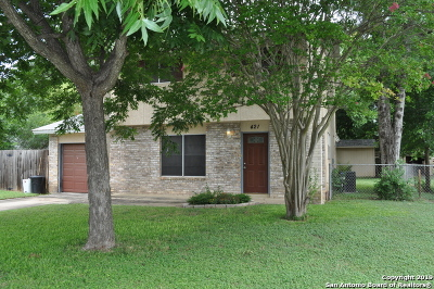 Schertz Single Family Home New: 421 Judith Ann Dr