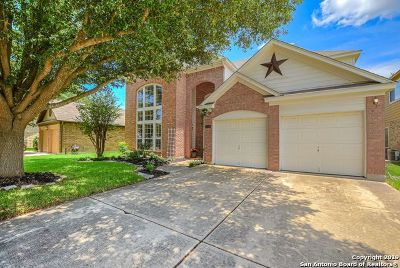 Stone Oak Single Family Home New: 20402 Settlers Valley