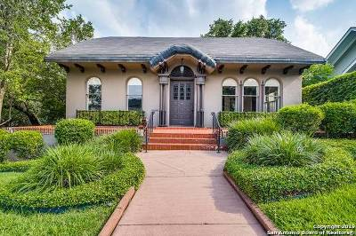 Alamo Heights Single Family Home New: 216 Argyle Ave